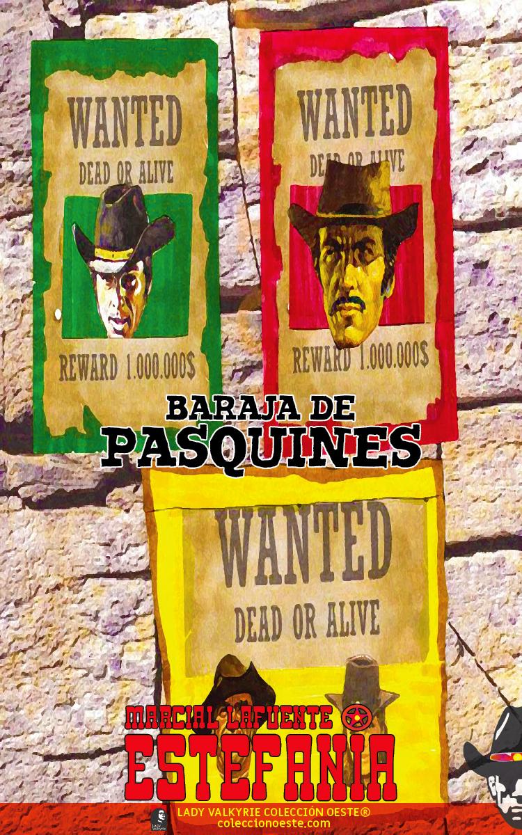 Baraja de pasquines (Colección Oeste)