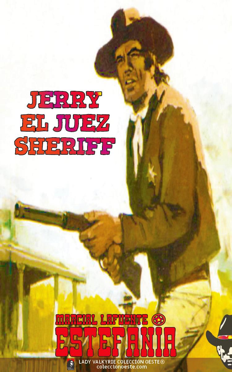 Jerry el juez sheriff (Colección Oeste)